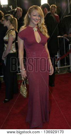 Charlotte Ross at the Los Angeles premiere of 'Kinsey' held at the Mann Village Theater in Westwood, USA on November 8, 2004.