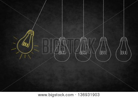 Idea Concept ,  Creativity Symbol - Good Idea Illustration