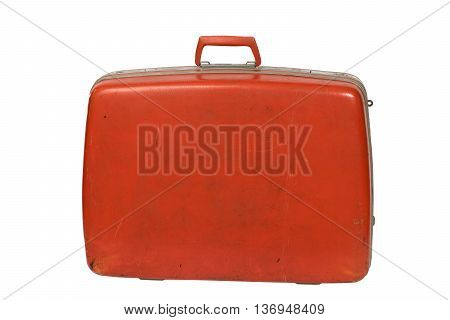 Classic Red Luggage