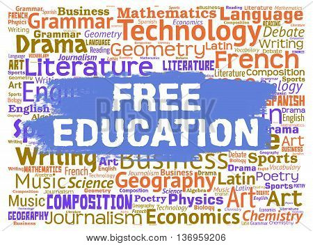 Free Education Means No Cost And Learning