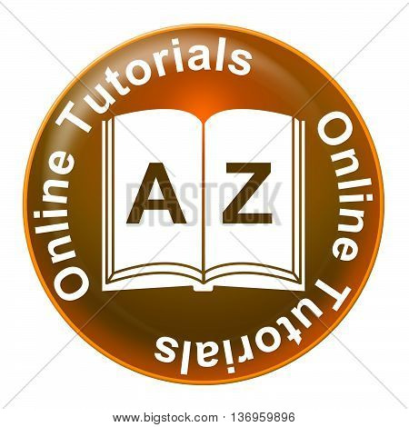 Online Tutorials Indicates Web Site And Educated