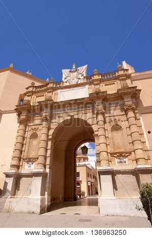 Porta Garibaldi (Garibaldi's Gate), Marsala, Sicily