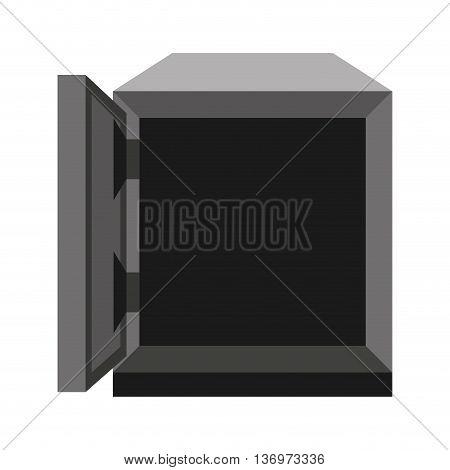 safe box isolated icon design, vector illustration  graphic