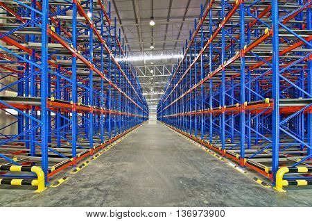 Warehouse Storage Shelving Metal Pallet Racking System