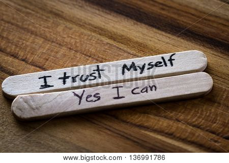 Positive Thoughts For Self Esteem Building