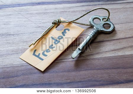Secret Key For A Free Life