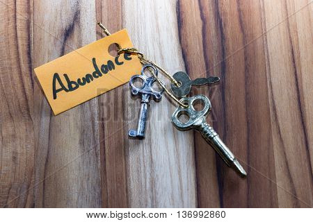 Secret Keys For Abundance In Life