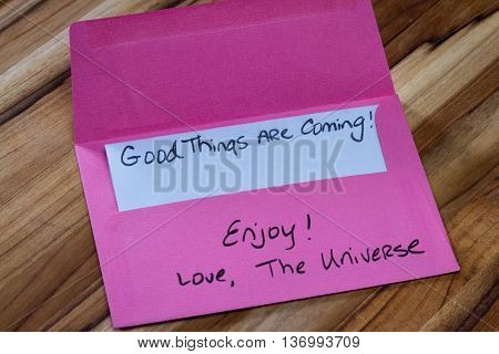 Spiritual Message In The Mail