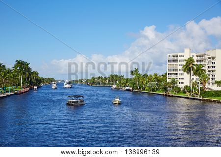 Del Ray Delray beach Gulf Stream in Florida USA