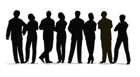 Multitud de personas de negocios