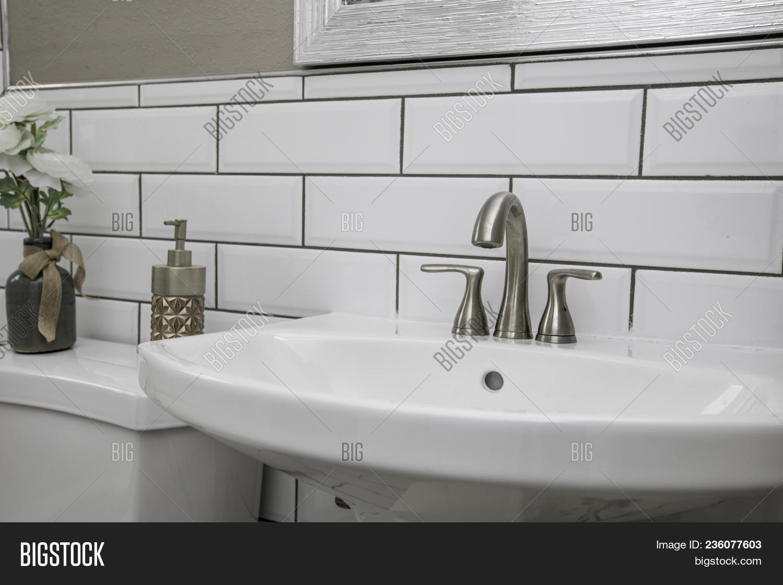 Bathroom Sink Shot Image Photo Free