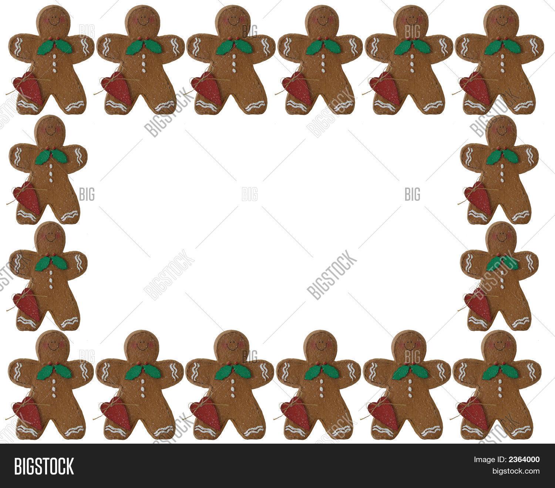 Imagen y foto Navidad 3D Gingerbread Man Marco O | Bigstock