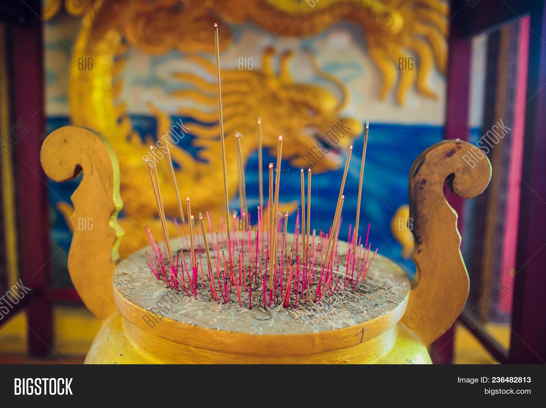 Incense Sticks Burning Image & Photo (Free Trial) | Bigstock