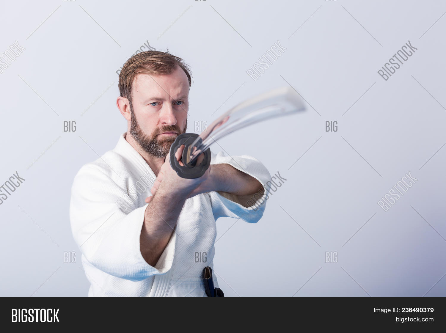 Man Katana On Iaido Image & Photo (Free Trial) | Bigstock