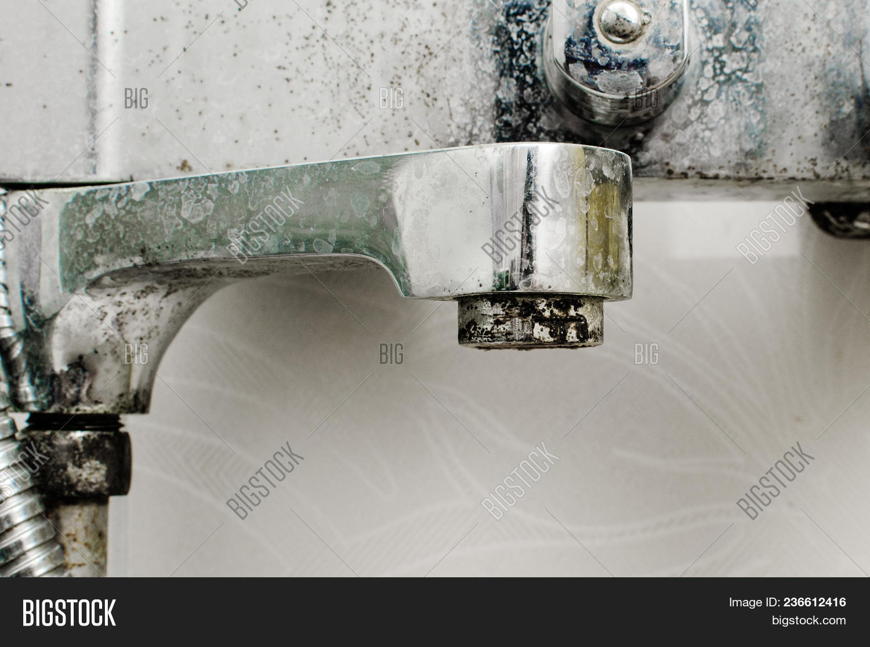 Hard Water Deposit Image & Photo (Free Trial) | Bigstock