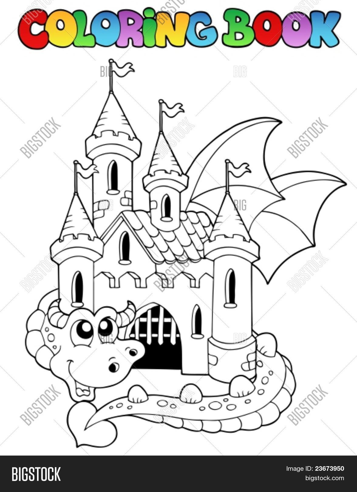 - Coloring Book Castle Vector & Photo (Free Trial) Bigstock