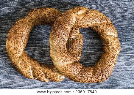 Abundant Sesame Crispy Turkish Bagel,wonderful Fresh Crispy Bagels