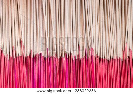 Incense Stick Background.joss Stick In Buddhism Respect For Buddha And God In South East Asia Cultur