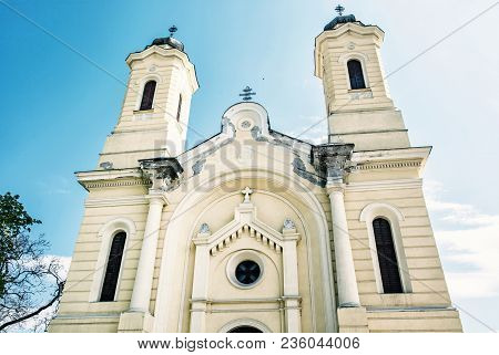 Cathedral Of The Nativity Of The Mother Of God, Kosice, Slovak Republic. Religious Architecture. Old