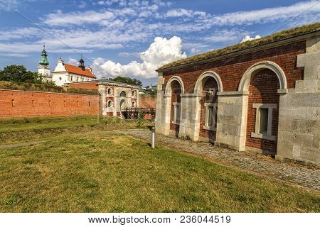 Zamosc - Renaissance City In Central Europe. The Szczebrzeska Gate Of Fortifications In Zamosc.