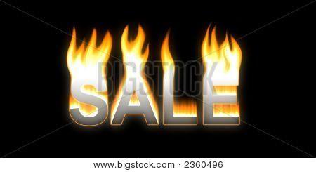 Sale! Flaming Sale.