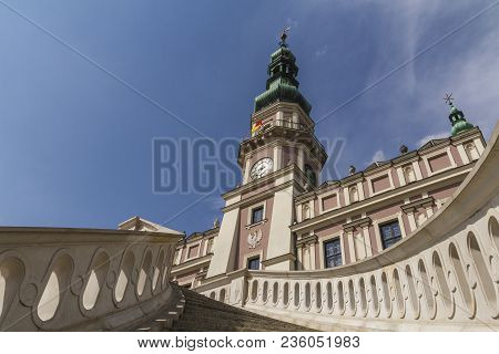 Zamosc - Renaissance City In Central Europe. Church Of St. Nicholas.