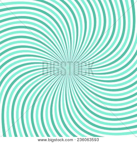 Abstract Twisting Ray Background - Vector Graphic Design