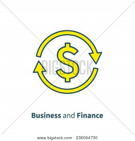 Currency Exchange, Cash Back, Quick Loan, Insurance Concept, Fund Management, Business Solution, Fin