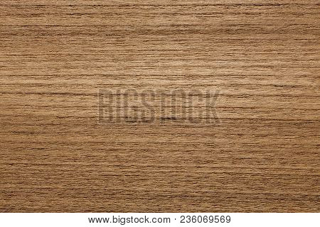 Precise Veneer Texture In Your Ideal Brown Tone. High Resolution Photo.
