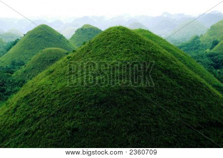 The Chocolate Hills Bohol Philippines
