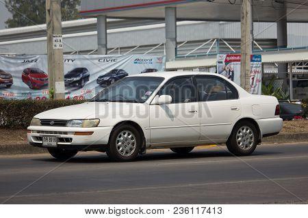Private Old Car, Toyota Corolla