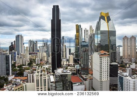 Financial Center Of Panama City, Panama