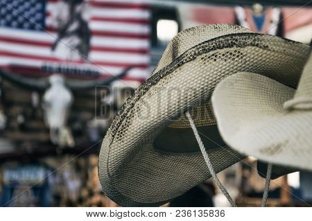 Cappelli Da Cowboy In Evento Musicale Country