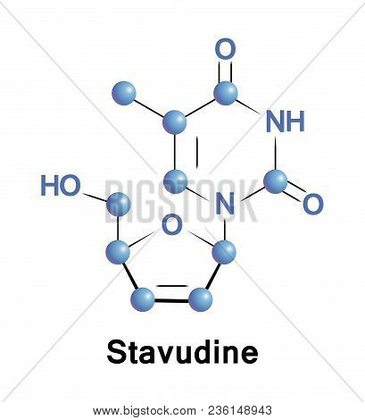 Stavudine D4t Is An Antiretroviral Medication Used To Prevent And Treat Hiv, Aids