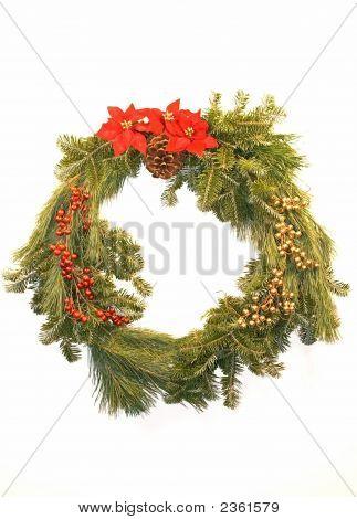 Evergreen Christmas Wreath