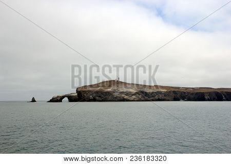 Anacapa Island East End With Arch Rock, Southern California