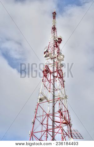 Television Transmission Center, Radio Broadcast Tower In The City Of Smolensk