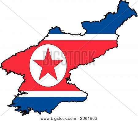 Map Korea North