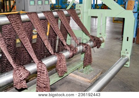 Production Process For The Production Of Brown Colored Synthetic Acrylic Fiber In A Petrochemical Pl