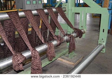 Production Process For The Production Of Brown Colored Synthetic Acrylic Fiber At A Chemical Plant