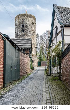The Historic Old Town Liedberg In Nrw, Germany.