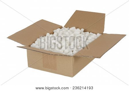 Parcel Package Packet With Stuffing Padding Filling Material For Save Shipping Of Fragile Freight