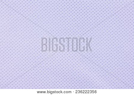Close Up Of Lilac Textured Synthetical Background