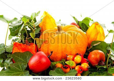 Flower Arrangement For Halloween