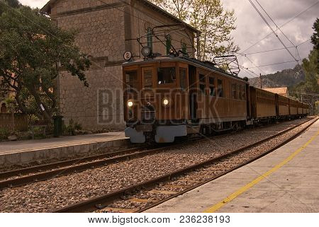 Soller Train 4 In Bunyola, Majorca, Balearic Islands, Spain
