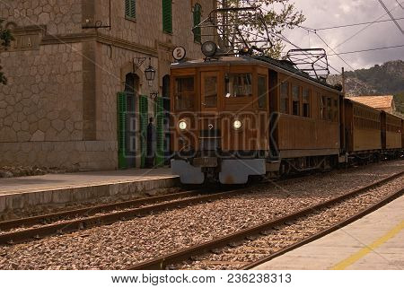 Soller Wood Train 2 In Majorca, Balearic Islands, Spain
