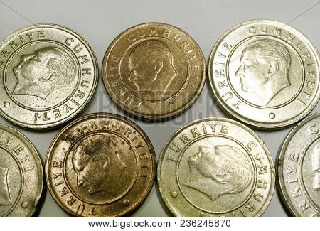 Turkish coins. Turkish Lira