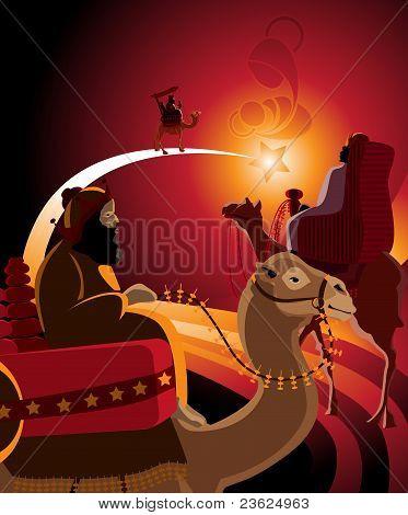 Thetravel Of Three Kings