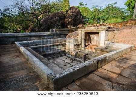 Ranmasu Uyana Is A Park In Sri Lanka Containing The Ancient Magul Uyana. (royal Park) It Is Situated
