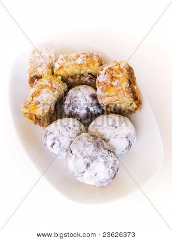 Apple pie and sweet pastries